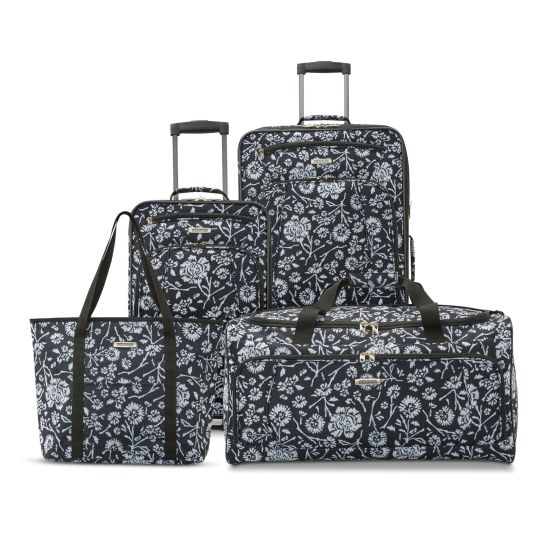 4-piece American Tourister Riverbend luggage set for $56