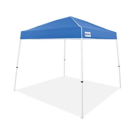 Easy Shade 10-ft x 10-ft slant leg canopy for $45