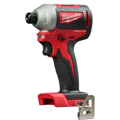 Milwaukee M18 brushless 1/4 in. hex refurbished impact driver for $60