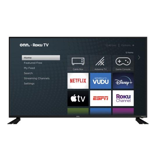 onn. 58″ 4K HDR Roku Smart TV for $289