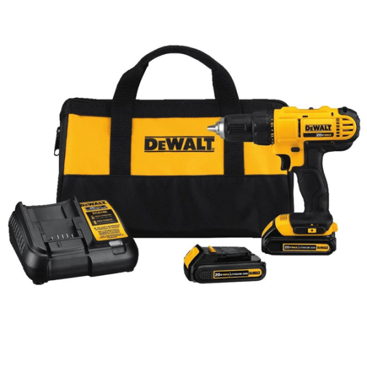 Dewalt 20V Max cordless drill/driver kit for $99