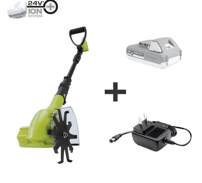 Sun Joe 24-volt cordless telescoping weeder/cultivator kit for $70