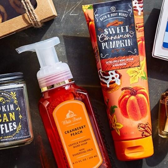Bath & Body Works: Buy 3, get 2 FREE body care items