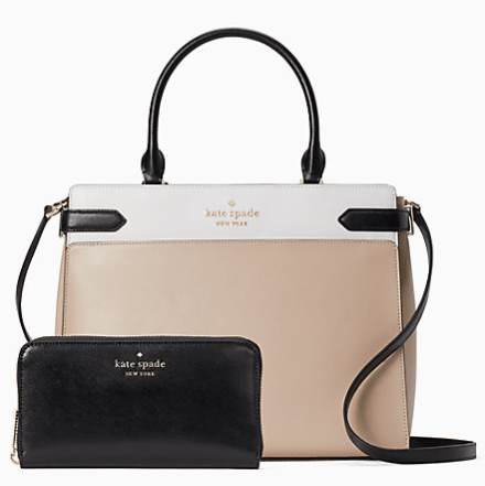 Save up to 75% during the Kate Spade Surprise Sale, free shipping