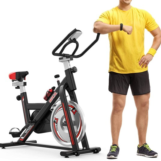 HAPICHIL stationary exercise bike for $150