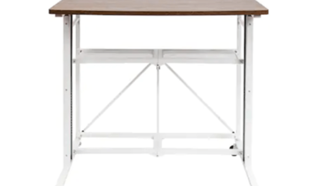 Today only: Origami sit-stand adjustable fold-away desk & workstation for $130