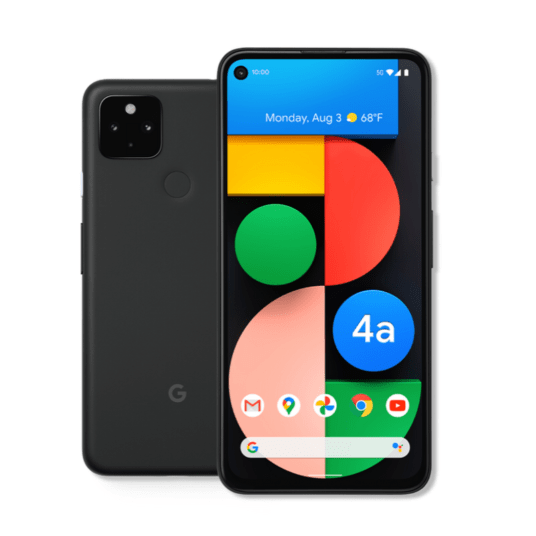 Pixel 4a 5G from $199 with trade-in through Google Fi