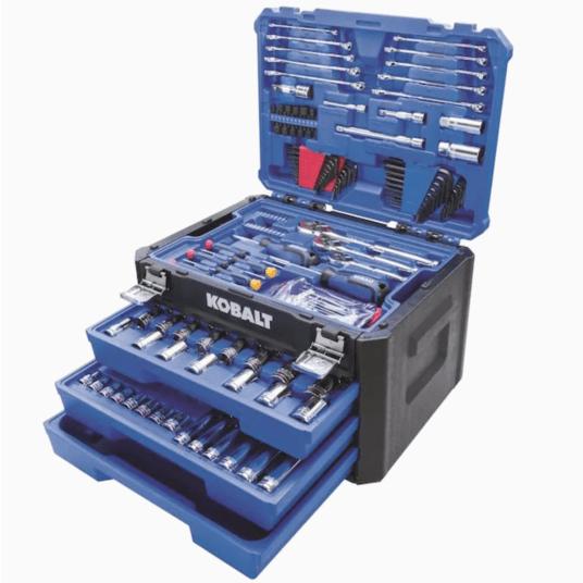 232-piece Kobalt mechanics tool set for $99