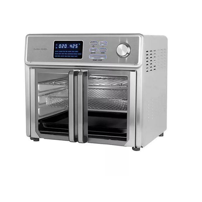 kalorik maxx 26 qt air fryer oven for 144 30 kohl s cash clark deals