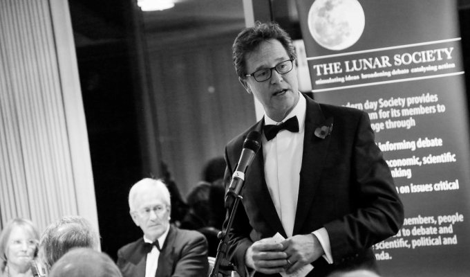 Nick Clegg speaks at Lunar Society annual dinner