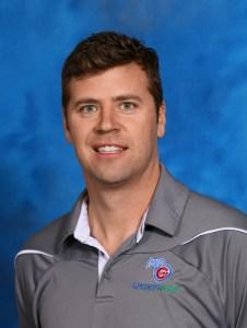 Casey Scheidel of Iowa Cubs Sports Turf Management