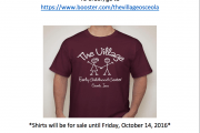 Support The Village And Get A Shirt!