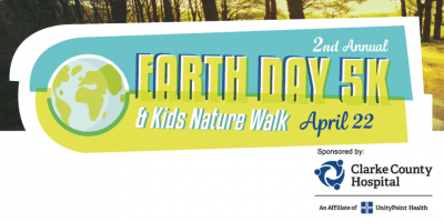 Earth Day 5K Run/Walk and Kids Nature Walk is April 22