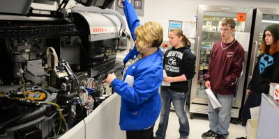 clarke county hospital tour for clarke community school students