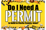 permit to build in clarke county iowa