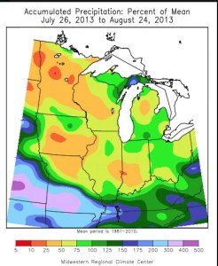 water supply drought conditions osceola iowa