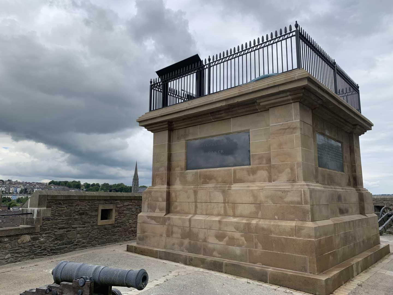 Walker Memorial Plinth, Royal Bastion