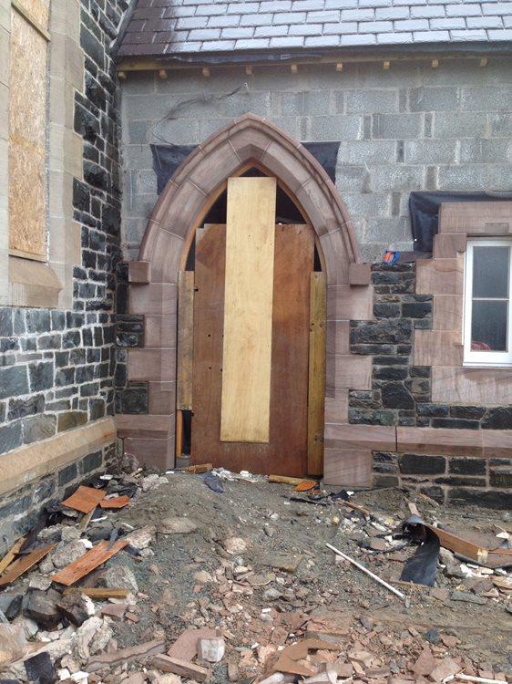 Ramp and new extension, St Joseph's Church, Ballycranbeg