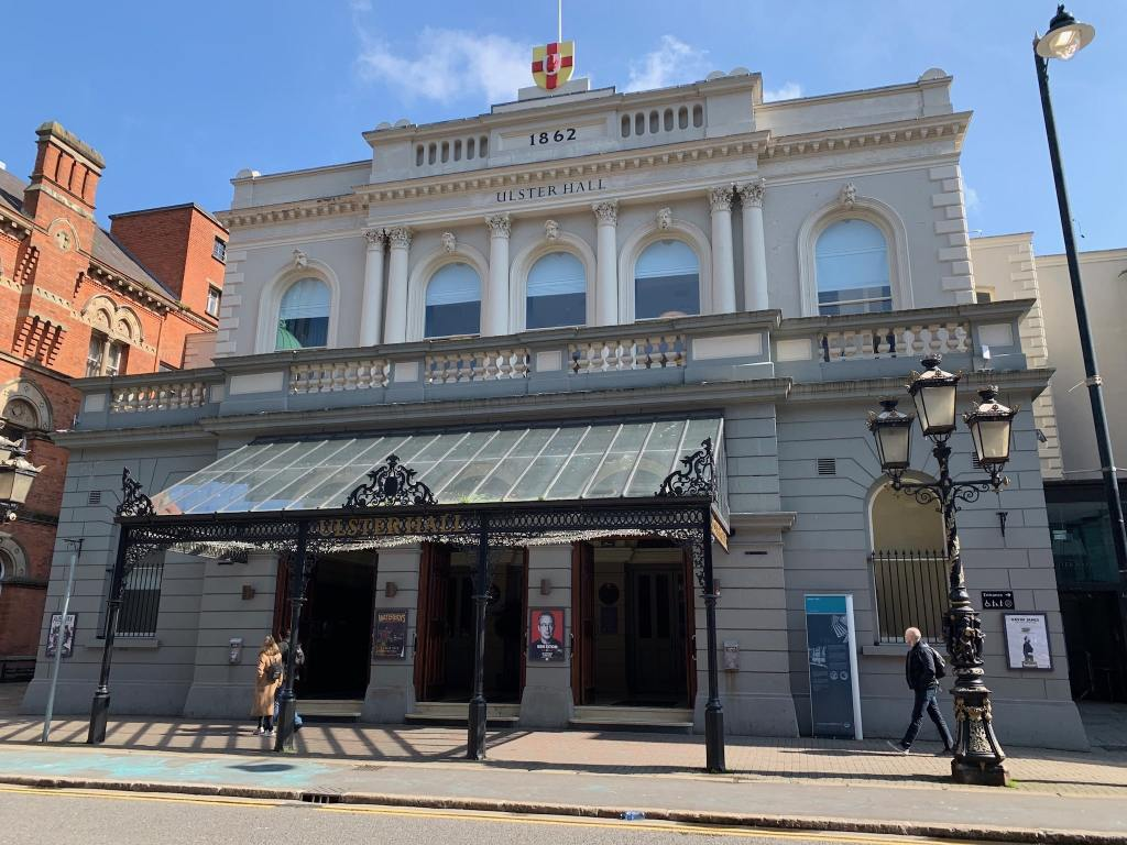Ulster Hall Stone Restoration Belfast