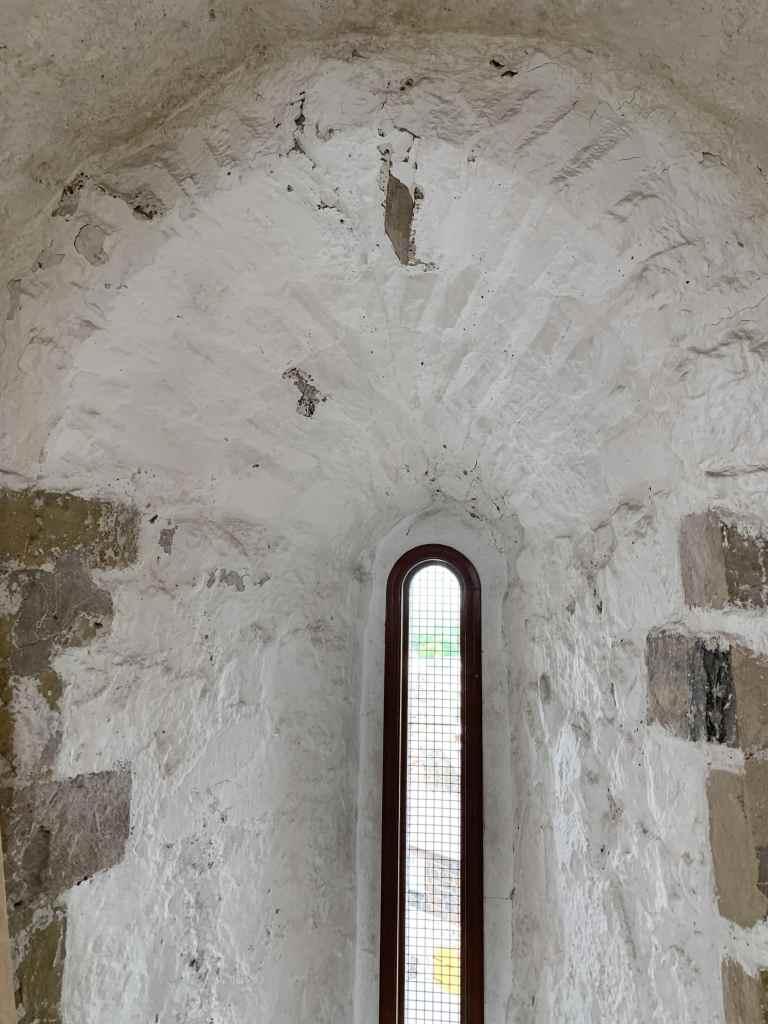 Before works to Carrickfergus Castle