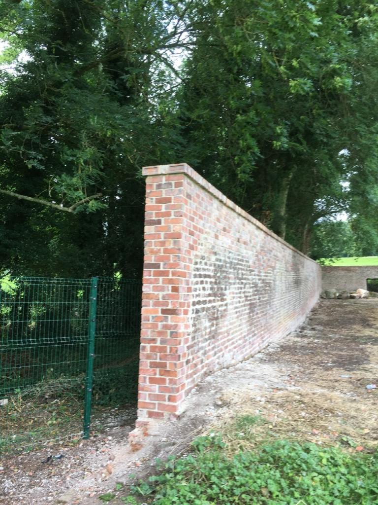 Armagh Rugby Club Wall Restoration