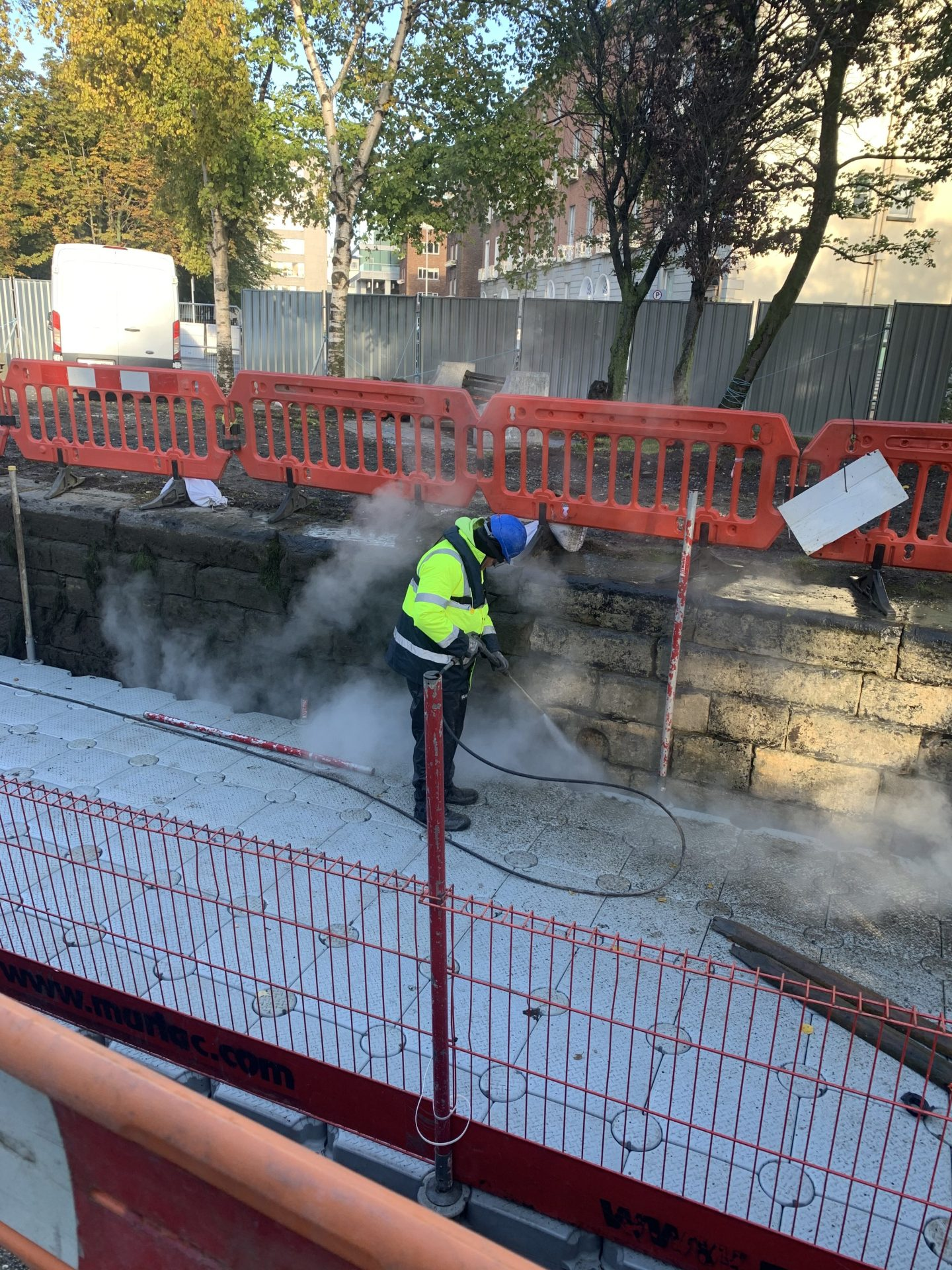 Stone Cleaning Royal Canal Dublin