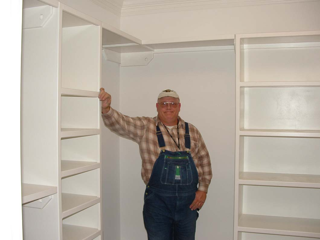 Custom Shelf Building  Installation Columbia  Lexington