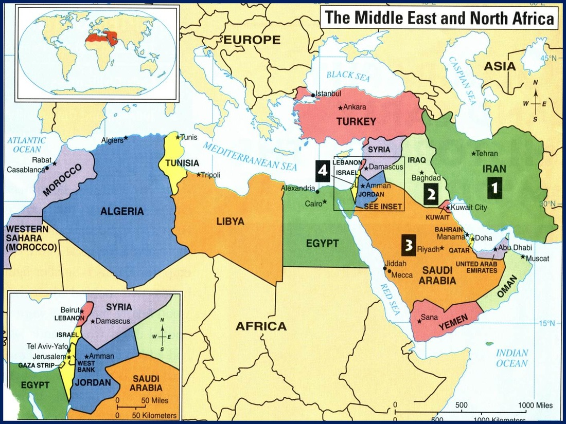 Week 14 North Africa And Sw Asia