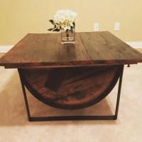 Bourbon Barrel Coffee Table - CLARKMANSHIP