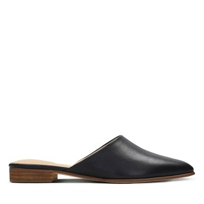 Womens Backless Slip On Shoes