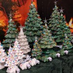 The History Of The Vintage Ceramic Christmas Tree Clark S Christmas Tree Farm And Christmas Shop