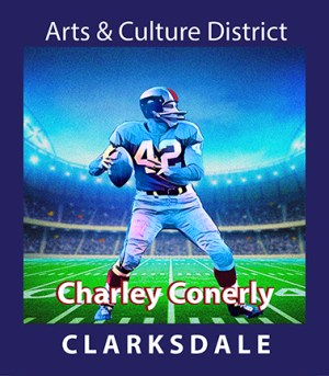 NFL quaterback and Clarksdale businessman, Charlie Conerly.
