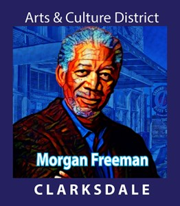 Clarksdale business owner and actor, Morgan Freeman.