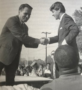 Andy Carr and Robert Kennedy in Clarksdale (1967). photo Troy Catchings.