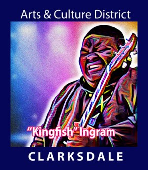 "Clarksdale guitar prodigy, Christone "" Kingfish"" Ingram."