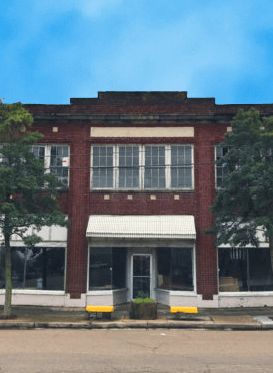 The Webster Bldg. in downtown Clarksdale, site of the new Travelers Hotel.
