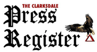 The Clarksdale Press Register was not included in this Delta Business Journal Article.