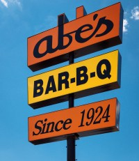 Abes BAR-B-Q, a Clarksdale, MS institution.