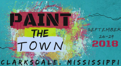 Paint the Town 2018, Clarksdale, Mississippi.