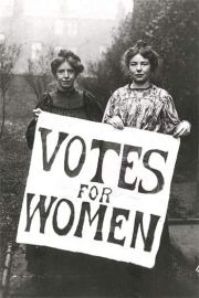 Voting for Women.