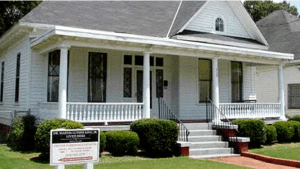 Martin Luther King house, Montgomery Alabama.