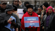 South seeks to end 1965 voting rights protections.