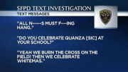 Racist San Francisco police officer texts.