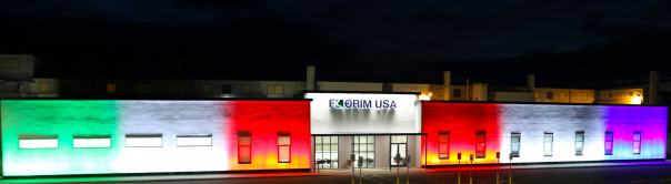 florim usa illuminated in solidarity