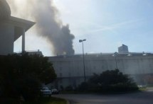 Injuries Reported Fire Opryland Hotel In