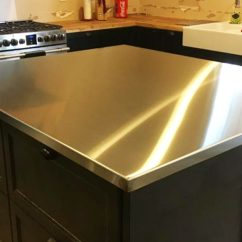 Stainless Steel Kitchen Countertop Storage Clark Welding Fabricating