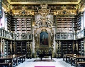 (FOTO 03) Biblioteca Joanina, junto a Universidade de Coimbra.