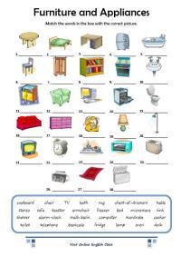 Furniture and Appliances | Clase de Jos Angel