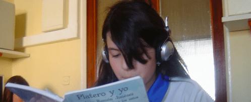"""Grabación de """"Platero y Yo"""""""