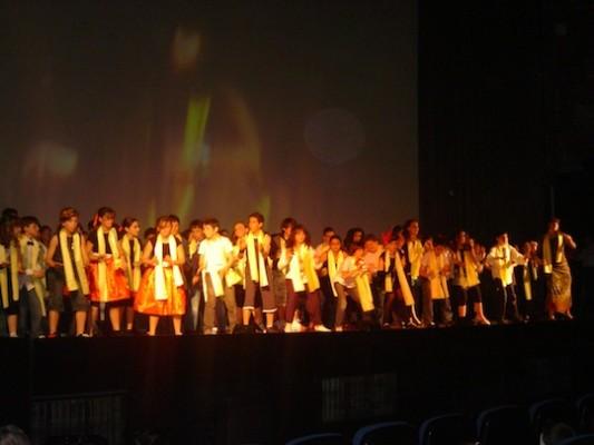 Actuación María Auxiliadora 2009